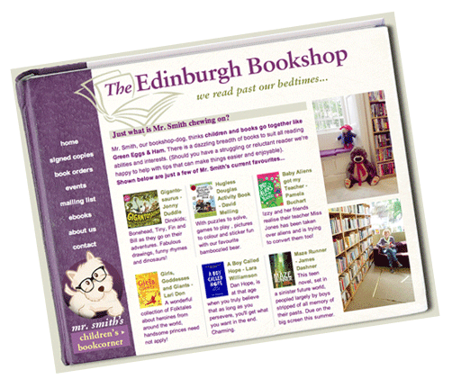 Edinburgh Bookshop Website